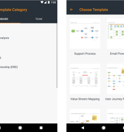 android app template selection [ 2300 x 1920 Pixel ]