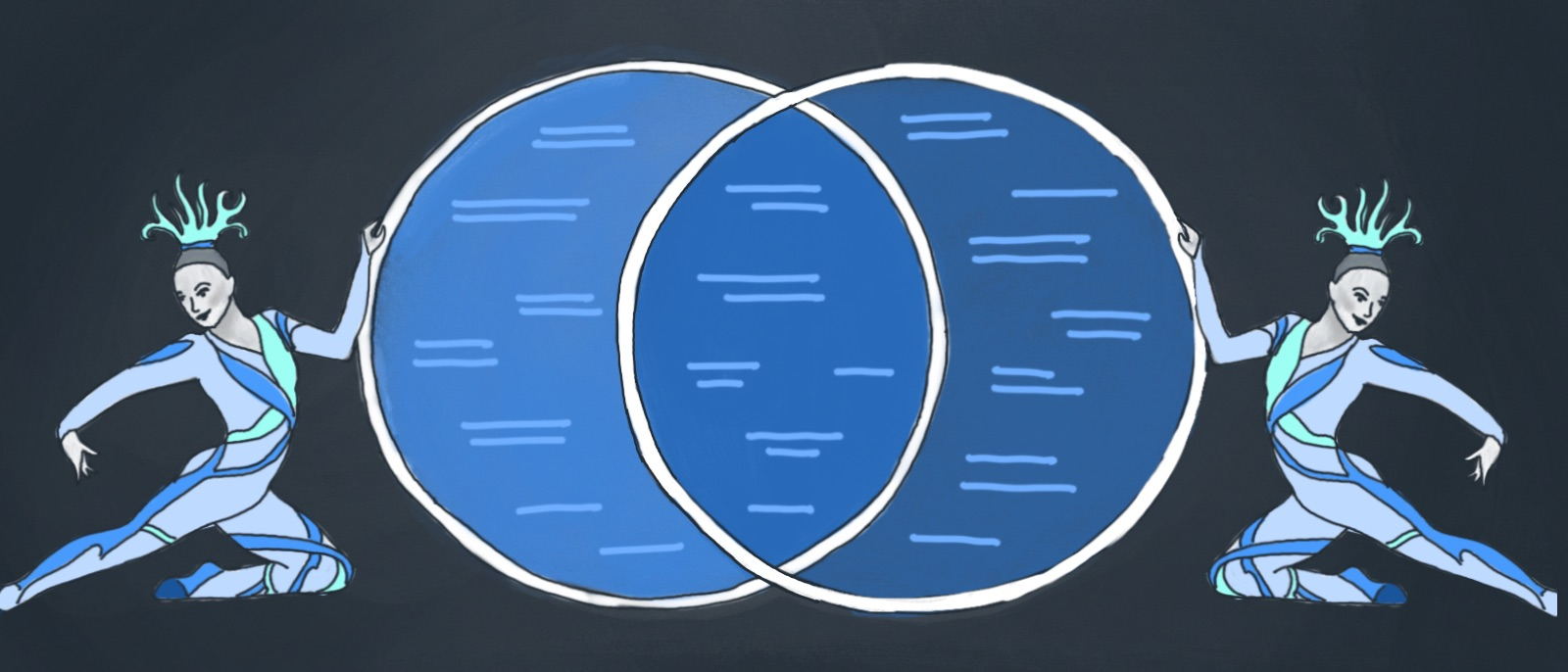 hight resolution of venn diagram in visio