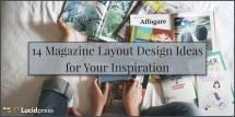 Magazine Layout Design Ideas Inspiration - Diy
