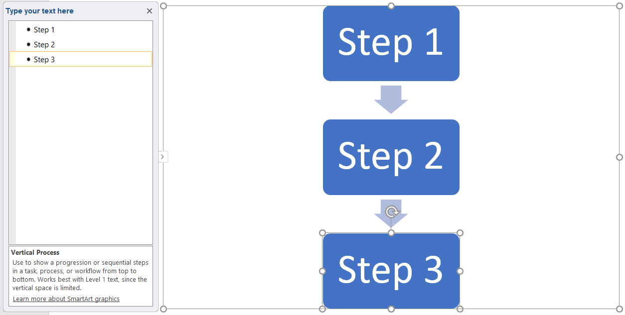 hight resolution of how to make a flowchart in powerpoint add text to smartart shapes