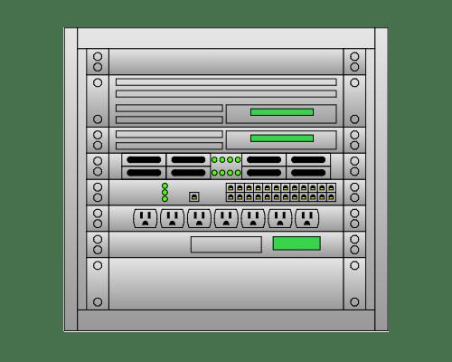 server layout diagram tool