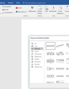 Smartart graphics menu also flowchart template for word lucidchart rh