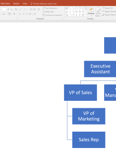 Create an organizational chart in powerpoint also how to make org lucidchart rh