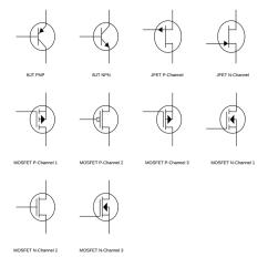 Ford Wiring Diagram Symbols 1998 Expedition Eddie Bauer Fuse Box Circuit Lucidchart Transistor