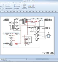 what is microsoft visio lucidchart visio process flow diagram basic visio diagram [ 1370 x 772 Pixel ]