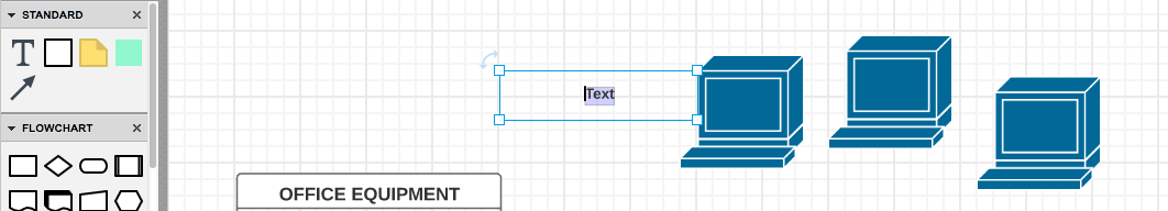 office lan network diagram warn winch wiring m8000 how to draw a lucidchart group items using containers in the left column scroll choose shape you want around of on