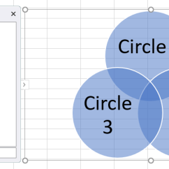 How To Make A Venn Diagram Telecom Network Microsoft In Excel Lucidchart Add Titles Circles