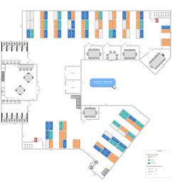 detailed office layout example [ 6900 x 6791 Pixel ]