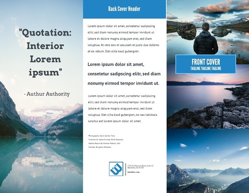 free brochure maker create