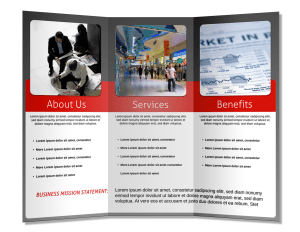 How To Design & Make A Brochure That Stands Out