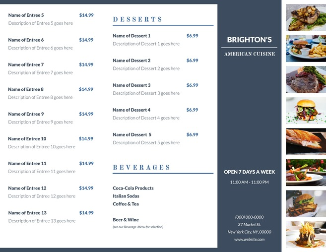 Free Brochure Templates & Examples 20 Free Templates