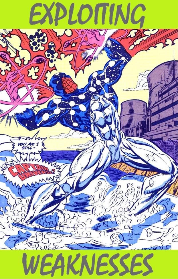 Precision Targeting Spiderman : precision, targeting, spiderman, Exploiting, Weaknesses, Cosmic, Spider-Man, HeroClix, Realms