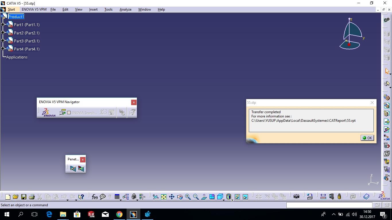 Catia Software Questions