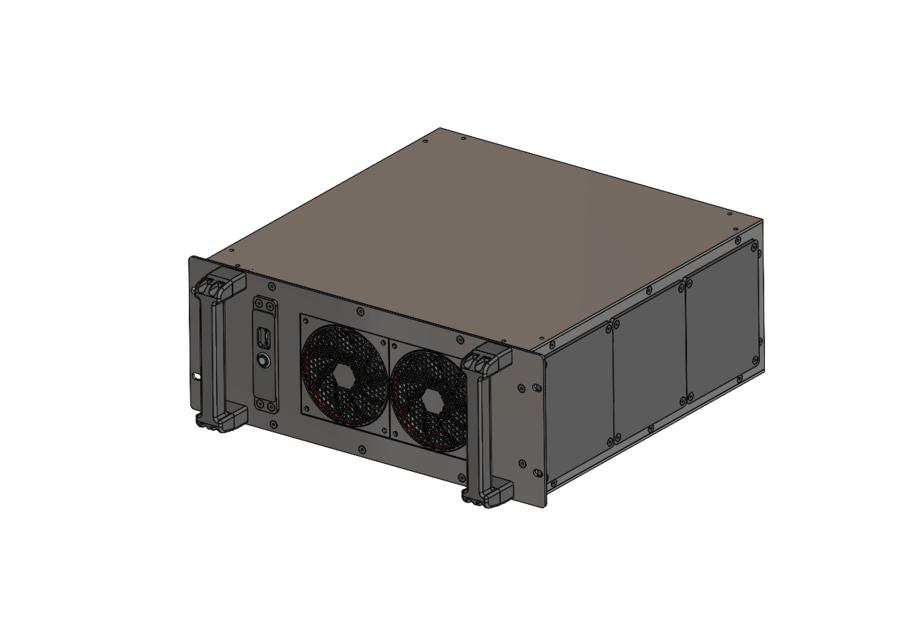 casemaker 4u rack mount custom pc 3d