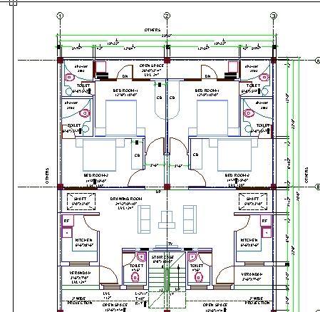 House Design AutoCAD 3D CAD Model GrabCAD