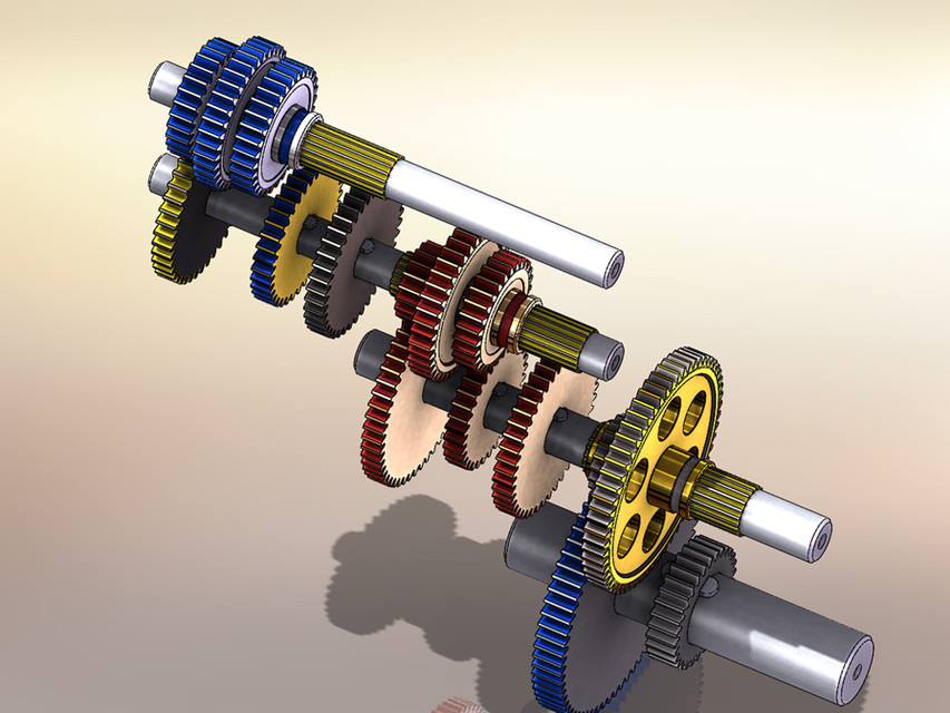 Lathe Gearbox Design
