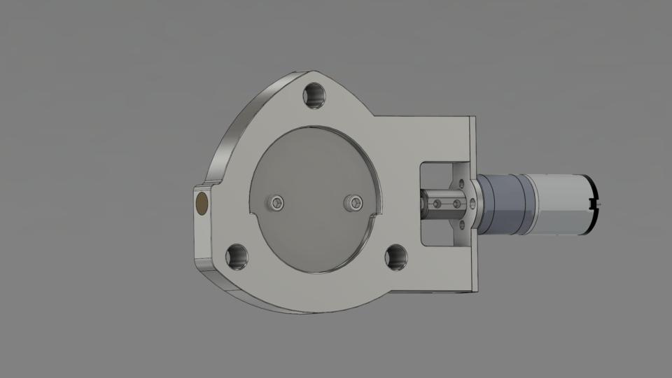 2 1 2 electric exhaust cutout 3d cad
