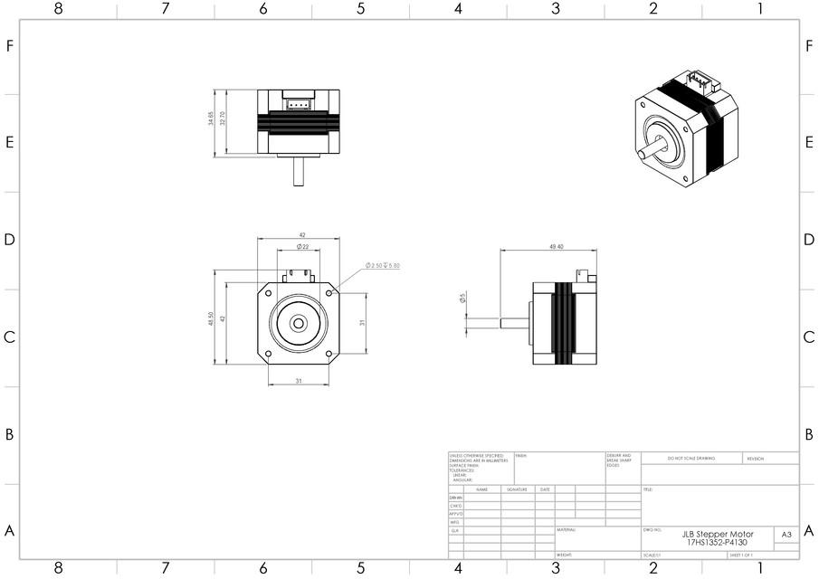 Wire Unipolar Stepper Motor Wiring Diagram Wiring