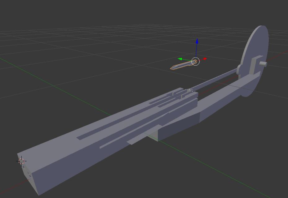 full auto crossbow 3d