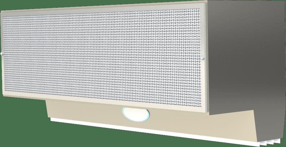 mars air curtain n36 1u 3d cad model
