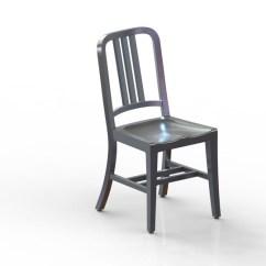 Chair Design Model Dutch Emeco 1006 Navy 3d Cad Library Grabcad