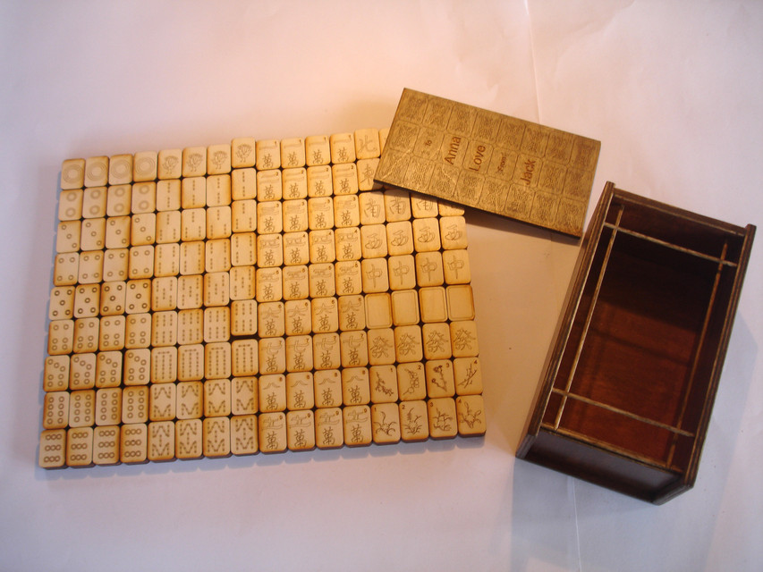 Laser Cut Tiles | WoodWorking