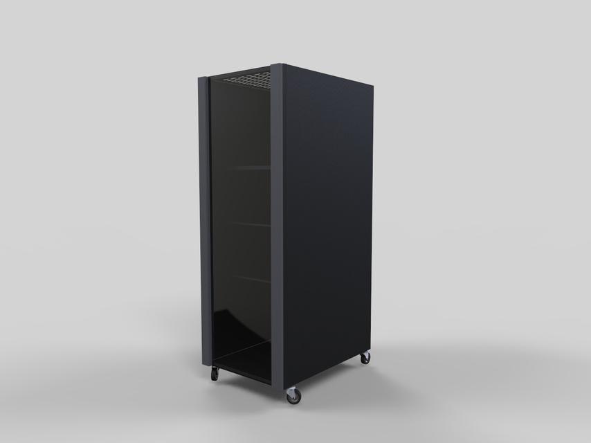 computer rack 3d cad model library