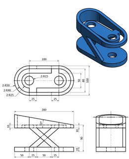 Solidworks Practice Parts : solidworks, practice, parts, SOLIDWORKS,, Practice, Downloaded, Models, Model, Collection, GrabCAD, Community, Library