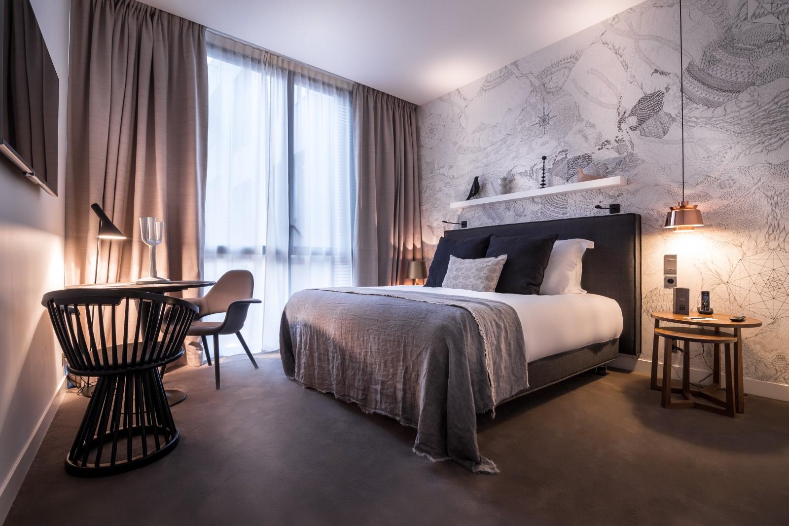 Chambre Luxe Centre De Rennes  Chambre Deluxe  Hôtel