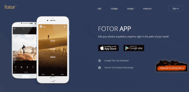Image result for Fotor photo editor