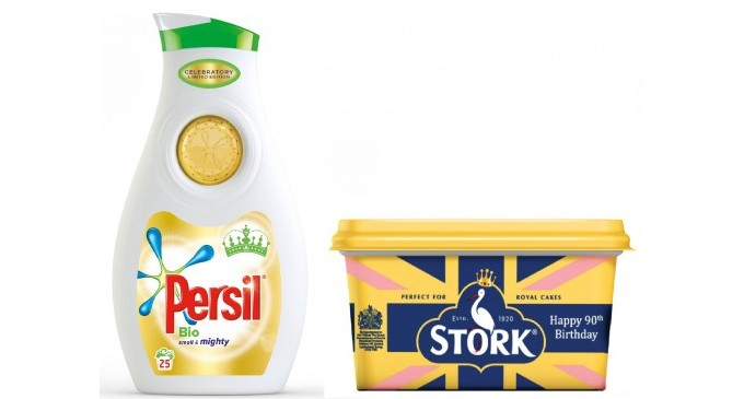 Unilever unveils limited edition packs to celebrate the Queen's birthday