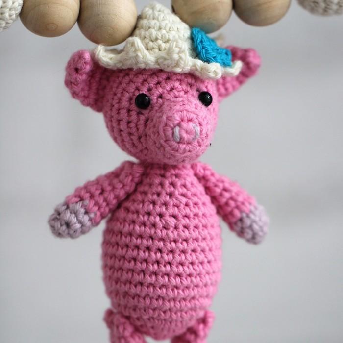 modele crochet cochons 2 variantes perles a partir de go handmade