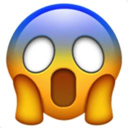 Image result for emoji whatsapp scare
