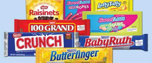 nestle candies