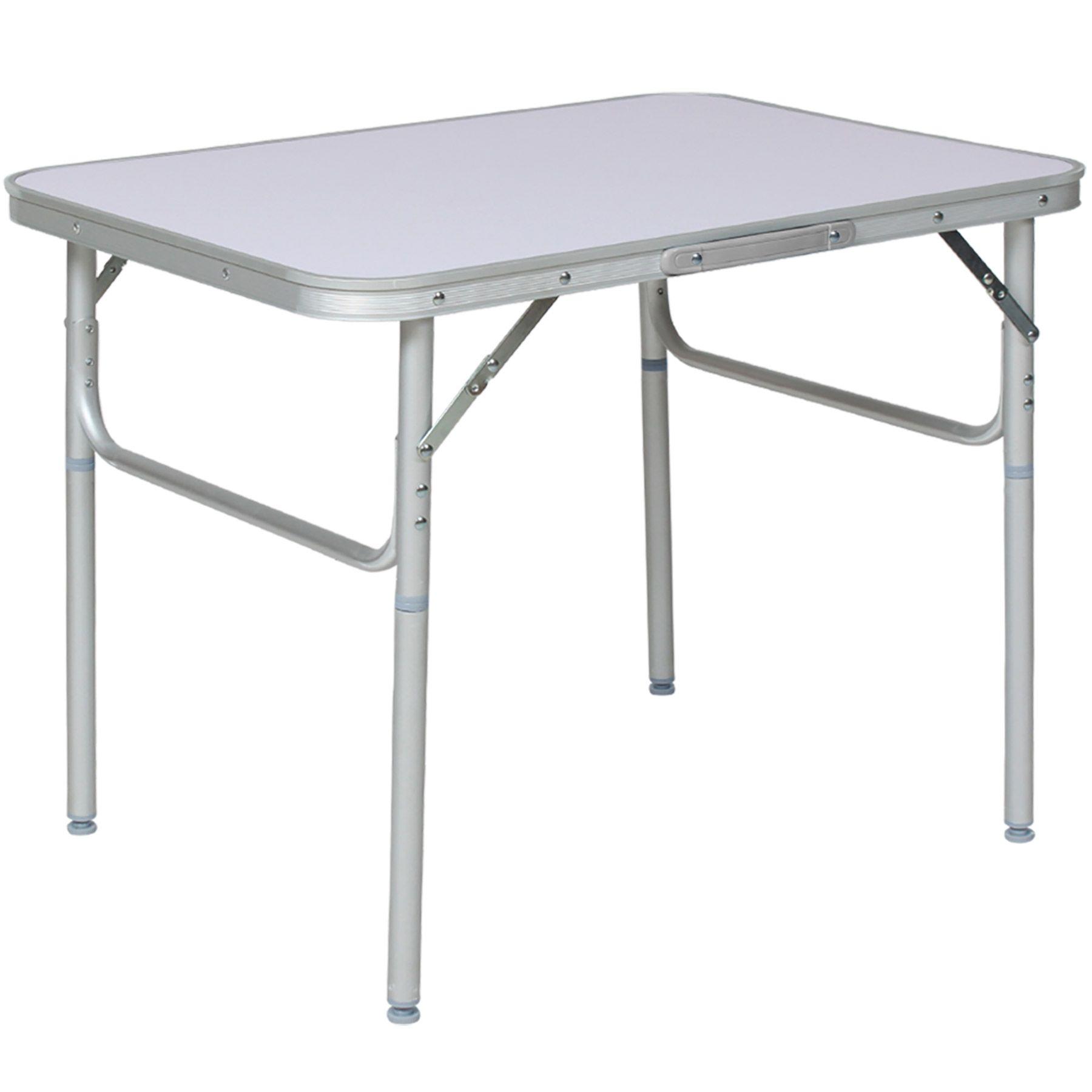 details sur table pliante de camping jardin bbq barbecue pique nique portable en aluminium