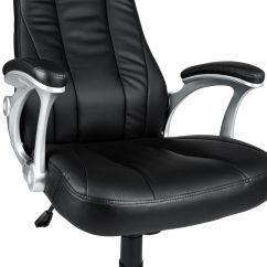 Revolving Chair Features Folding Covers In Bulk Office Computer Desk Fauxleather Executive