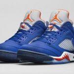 更新 3月28日発売予定 Air Jordan 5 Low 'Knicks'