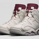 "12月12日発売予定  Air Jordan 6 Retro ""Maroon"""