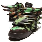 ADIDAS ORIGINALS x Jeremy Scott JS WING 3.0 SAUVAGE camo