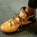 9月12日発売予定 Nike LeBron 12 EXT Cork
