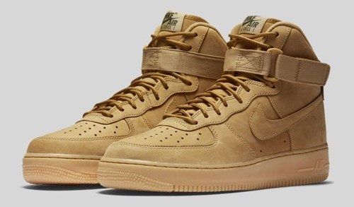 "NIKE AIR FORCE 1 HIGH ""FLAX"""