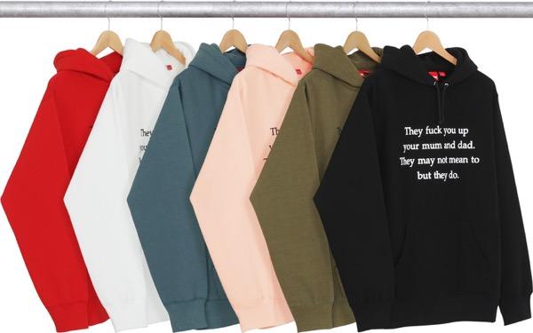 They Fuck You Up Hooded Sweatshirt