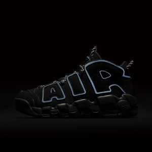 4月15日発売予定 NIKE AIR MORE UPTEMPO BLACK REFLECTIVE