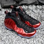 "海外5月19日発売予定 NIKE AIR FOAMPOSITE ONE ""Metallic Red"""