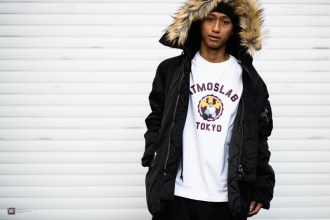 THE SIMPSONS×ATMOS LAB Capsule Collection-look-01
