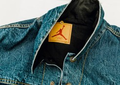 JORDAN BRAND X LEVIS AIR JORDAN IV AND REVERSIBLE TRUCKER JACKET-17