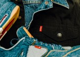 JORDAN BRAND X LEVIS AIR JORDAN IV AND REVERSIBLE TRUCKER JACKET-21