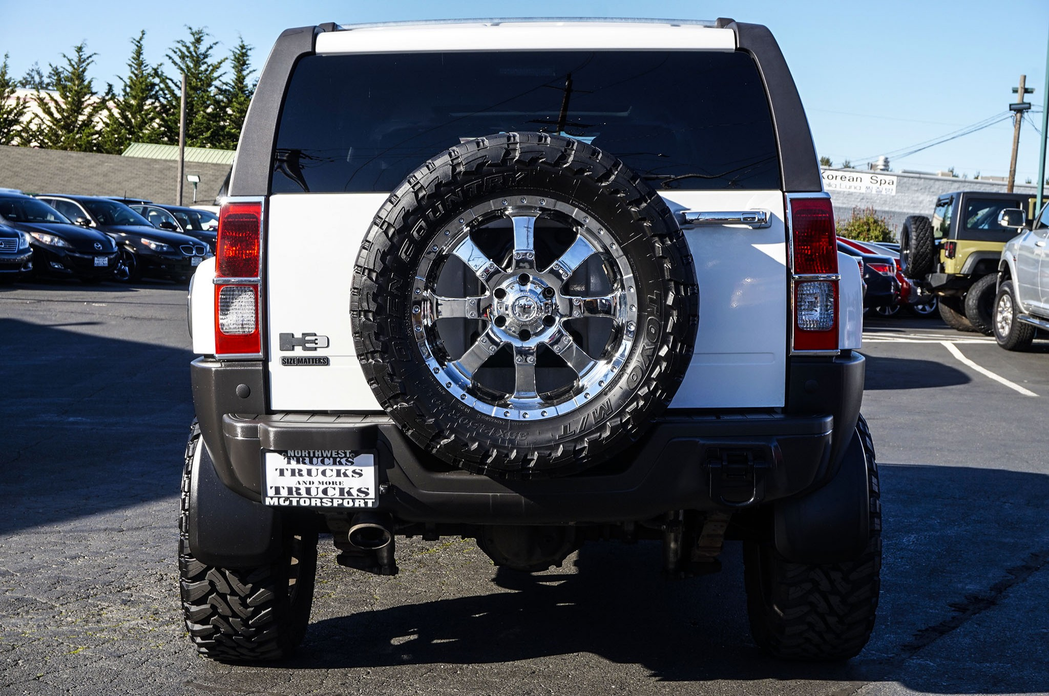 Lifted 2007 Hummer H3 4x4 Northwest Motorsport