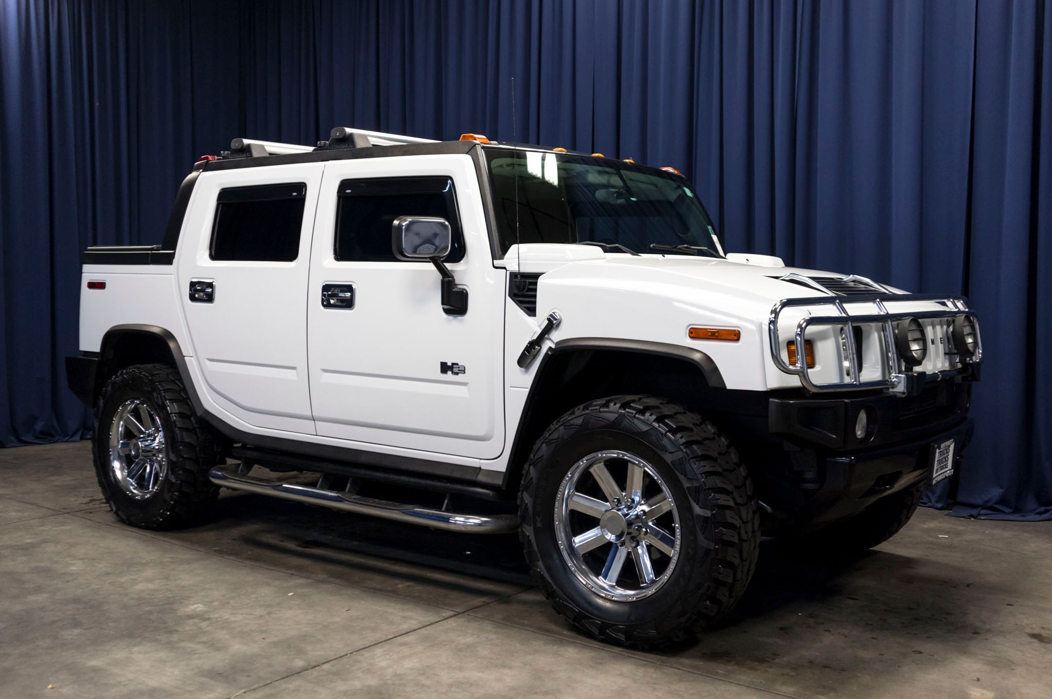 Lifted 2005 Hummer H2 SUT Luxury 4x4 Northwest Motorsport