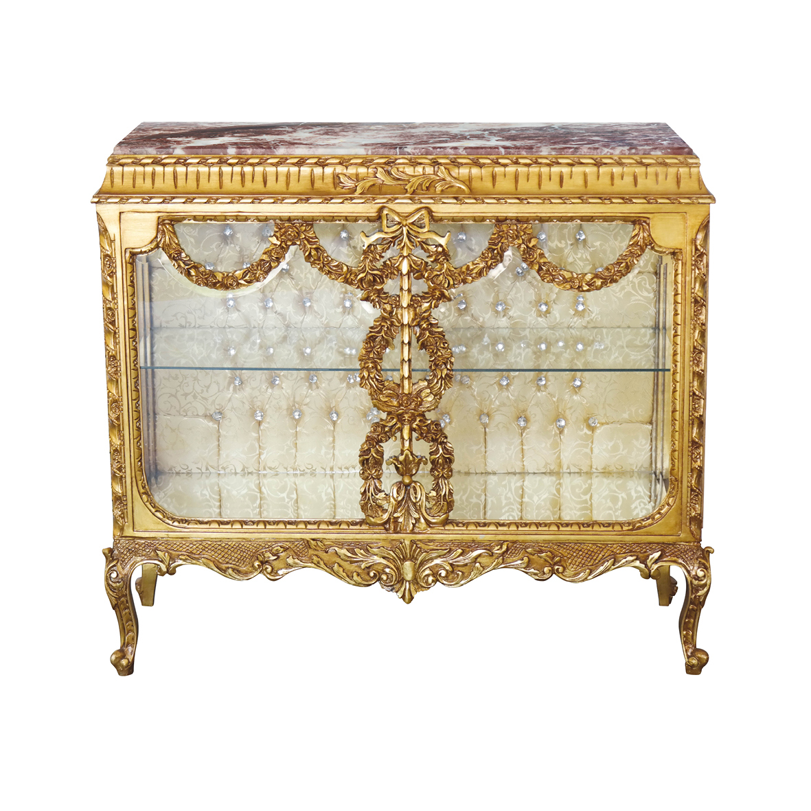 Kommode Gold Barock Kommode Sideboard Gold
